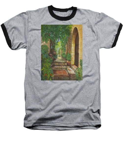 Eze Village Baseball T-Shirt