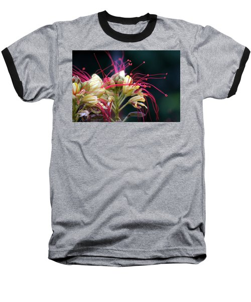Fab Flower Baseball T-Shirt