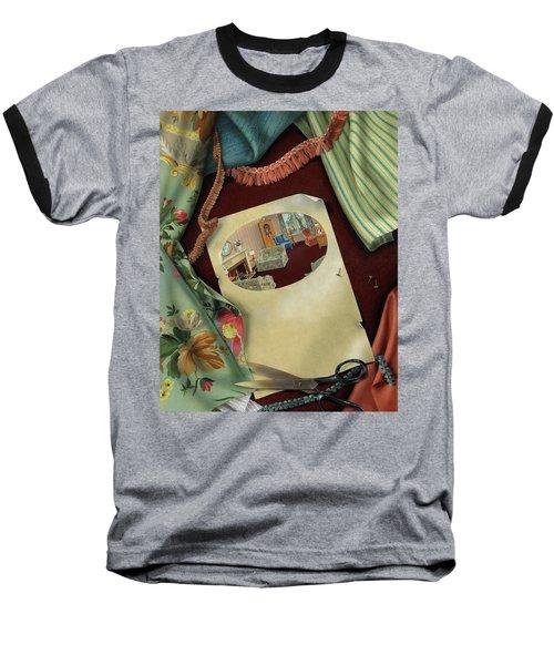 Fabrics And Trimmings Baseball T-Shirt