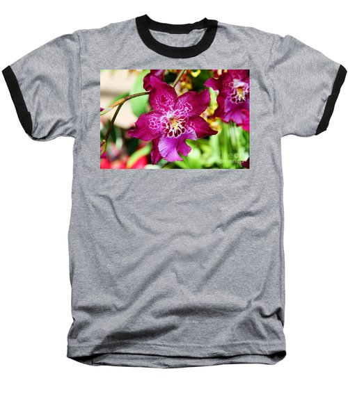 Fabulous Fushia Orchids By Diana Sainz Baseball T-Shirt