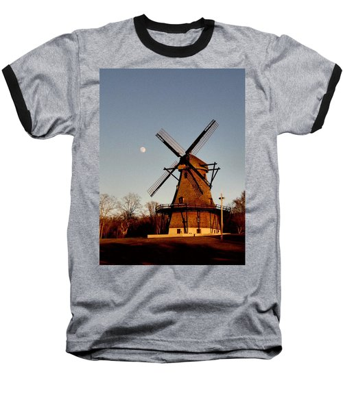 Fabyan Windmill Baseball T-Shirt