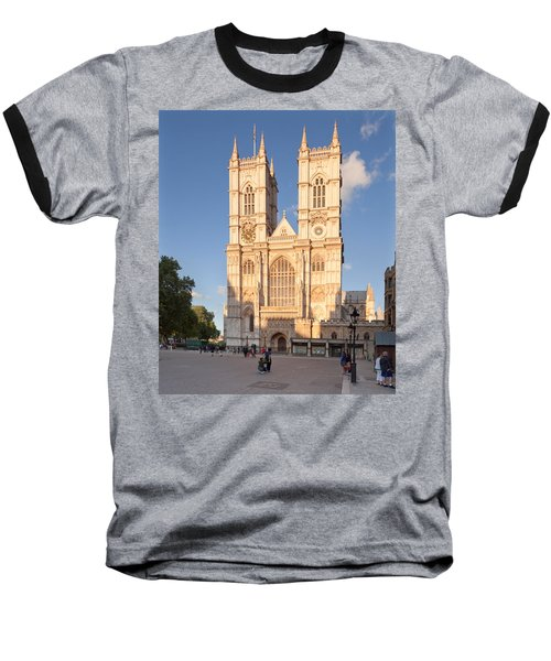 Facade Of A Cathedral, Westminster Baseball T-Shirt by Panoramic Images