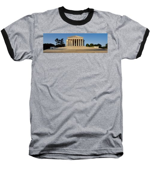 Facade Of A Memorial, Jefferson Baseball T-Shirt by Panoramic Images