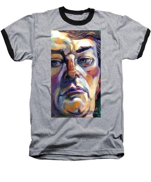 Face Of A Man Baseball T-Shirt
