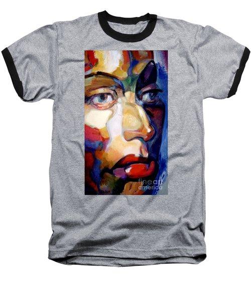 Face Of A Woman Baseball T-Shirt