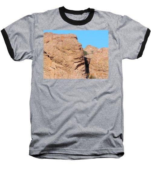 Face Of The Monolith Baseball T-Shirt
