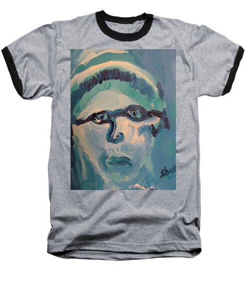 Face Three As Grandpa Snowman Baseball T-Shirt