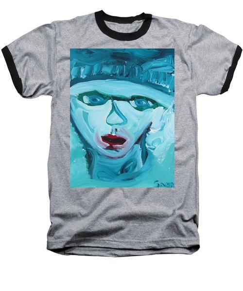 Face Two Baseball T-Shirt