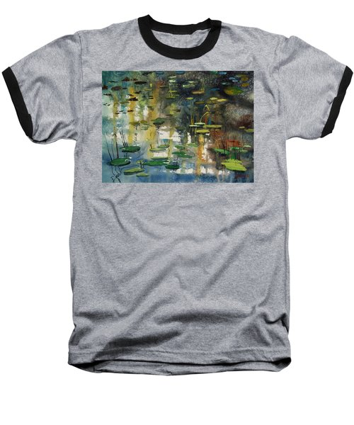 Faces In The Pond Baseball T-Shirt