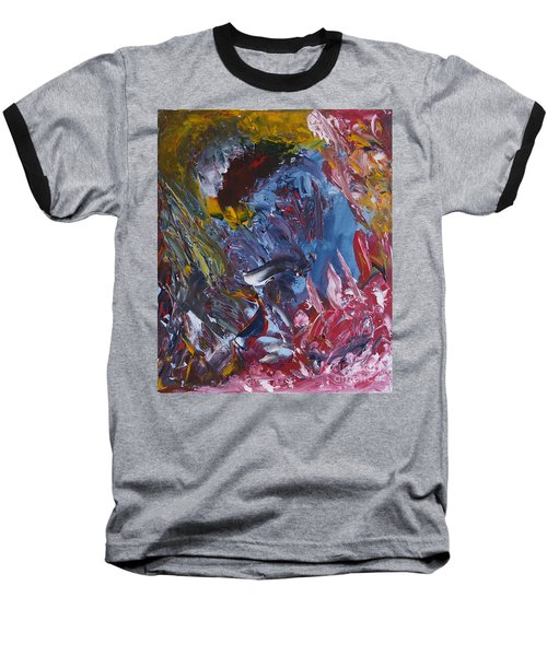 Facing Demons Baseball T-Shirt