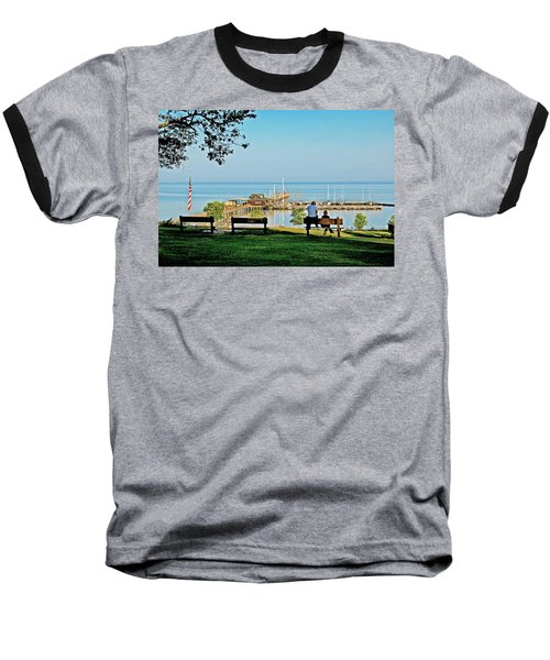 Fairhope Alabama Pier Baseball T-Shirt