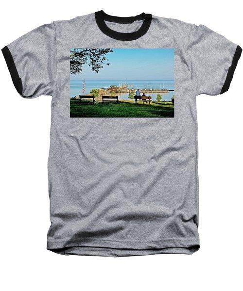 Fairhope Alabama Pier Baseball T-Shirt
