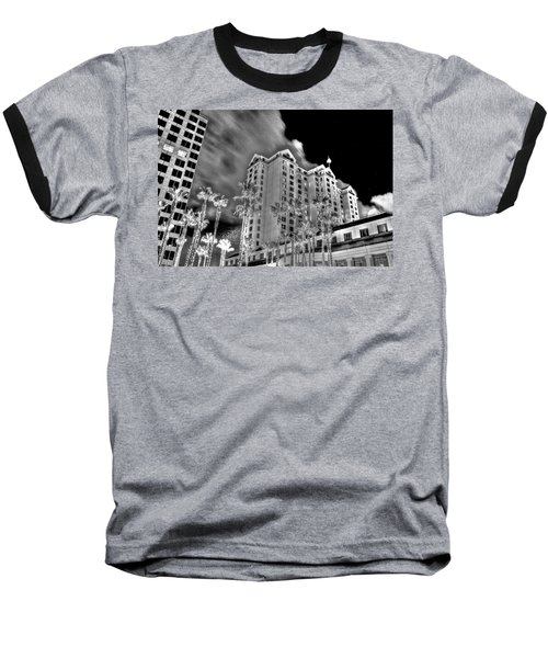 Fairmont From Plaza De Cesar Chavez Baseball T-Shirt