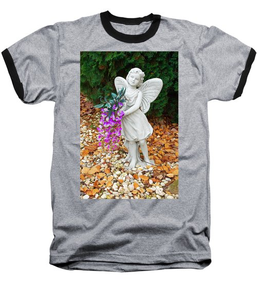 Baseball T-Shirt featuring the photograph Fairy by Aimee L Maher Photography and Art Visit ALMGallerydotcom