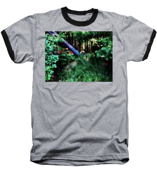 Baseball T-Shirt featuring the photograph Fairy Forest by Jamie Lynn