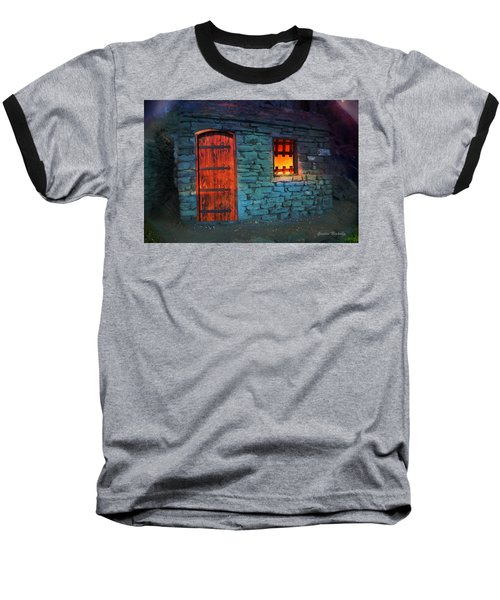 Fairy Tale Cabin Baseball T-Shirt