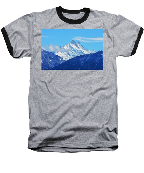 Fairy Tale In Alps Baseball T-Shirt