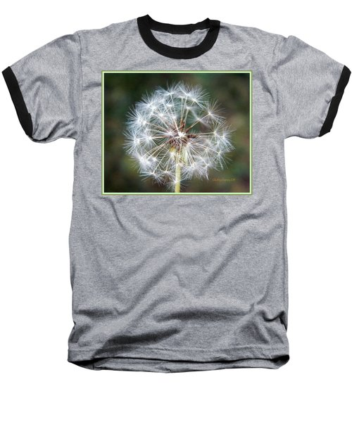 Baseball T-Shirt featuring the photograph Fairy Umbrellas by Kathy Barney