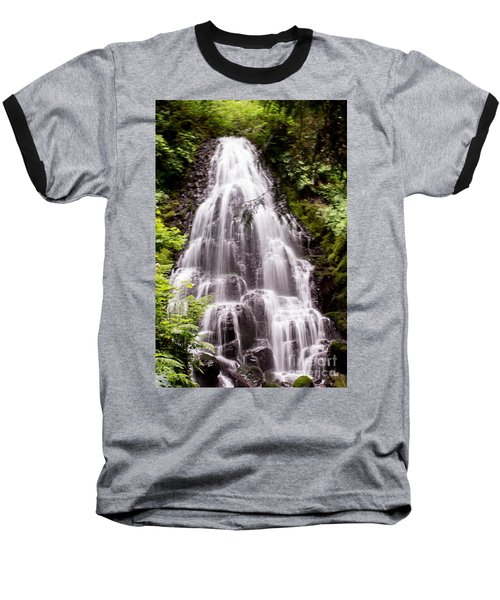 Baseball T-Shirt featuring the photograph Fairy's Playground by Suzanne Luft