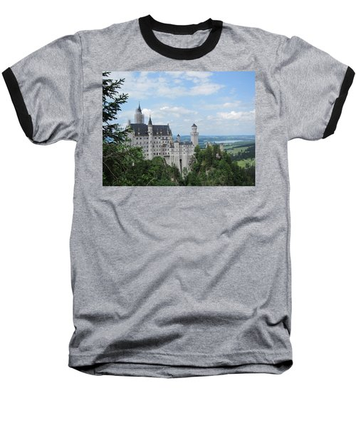 Baseball T-Shirt featuring the photograph Fairytale Castle by Pema Hou