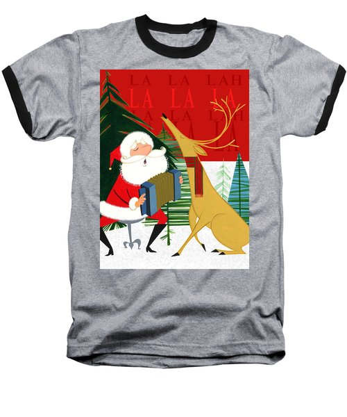 Falalalalah Baseball T-Shirt by Michael Humphries