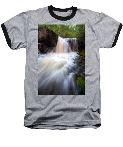 Baseball T-Shirt featuring the photograph Fall And Splash by David Andersen