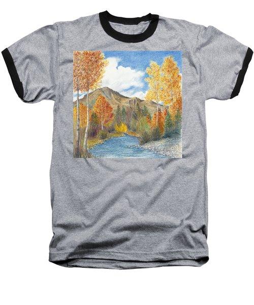 Fall Aspens Baseball T-Shirt