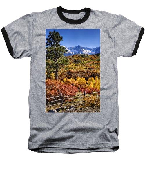 Fall At Dallas Divide Baseball T-Shirt by Priscilla Burgers