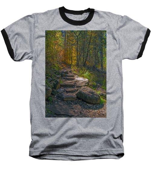 West Fork At Oak Creek Baseball T-Shirt