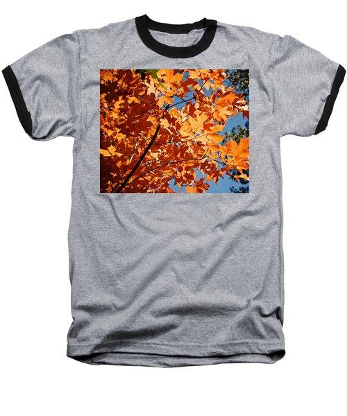 Fall Colors 2 Baseball T-Shirt