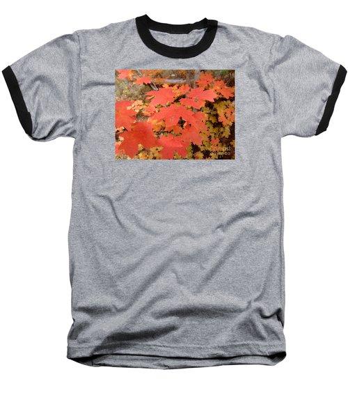 Fall Colors 6308 Baseball T-Shirt by En-Chuen Soo