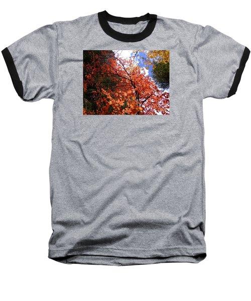 Fall Colors 6340 Baseball T-Shirt by En-Chuen Soo