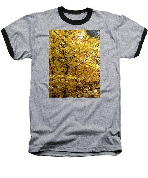 Fall Colors 6371 Baseball T-Shirt by En-Chuen Soo