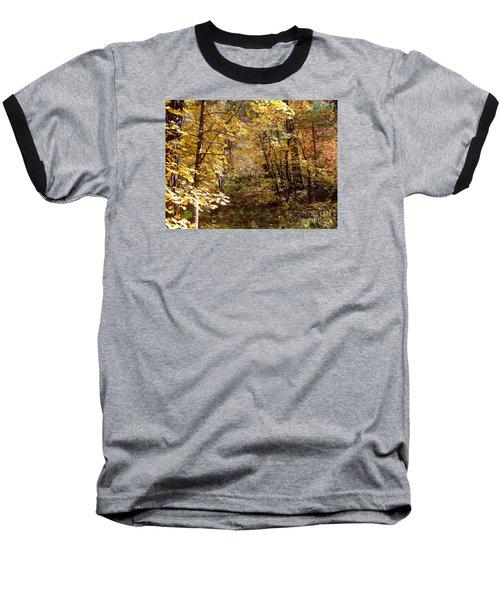 Fall Colors 6405 Baseball T-Shirt by En-Chuen Soo