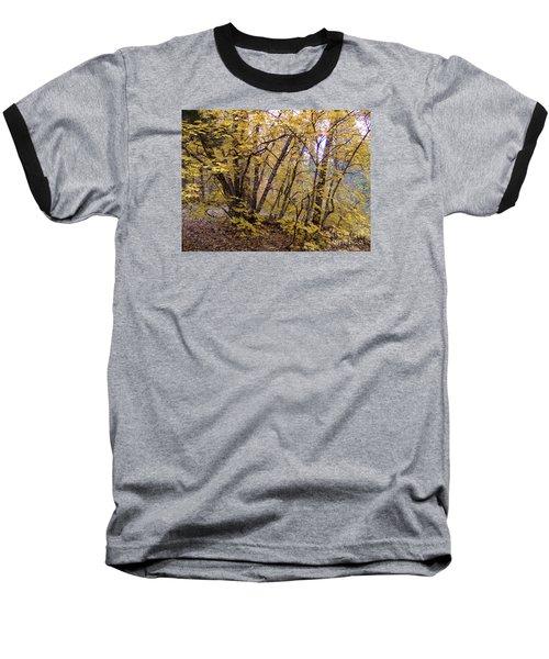 Fall Colors 6435 Baseball T-Shirt by En-Chuen Soo