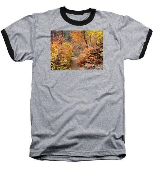 Fall Colors 6454 Baseball T-Shirt by En-Chuen Soo