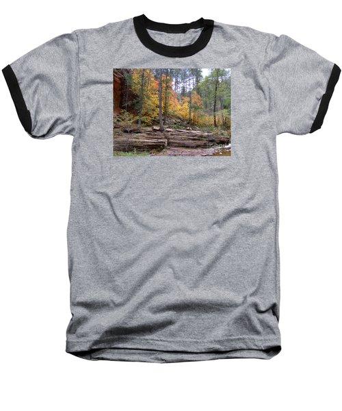 Fall Colors 6463-02 Baseball T-Shirt by En-Chuen Soo
