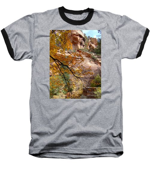 Fall Colors 6497 Baseball T-Shirt by En-Chuen Soo
