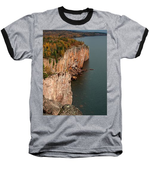 Fall Colors Adorn Palisade Head Baseball T-Shirt