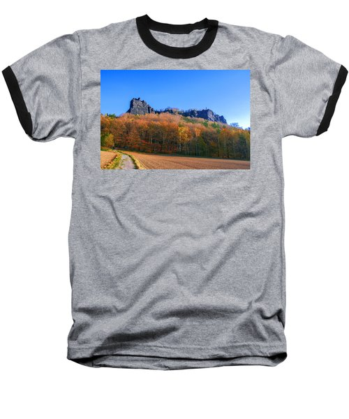Fall Colors Around The Lilienstein Baseball T-Shirt