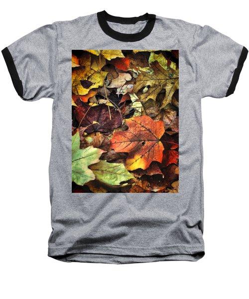 Fall Colors Baseball T-Shirt by Lyle Hatch