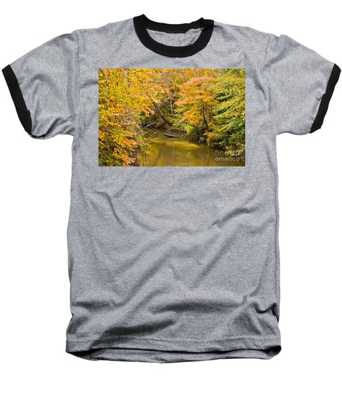 Fall Creek Foliage Baseball T-Shirt