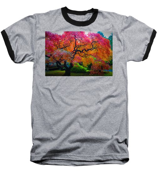 Fall Crowning Glory  Baseball T-Shirt by Patricia Babbitt