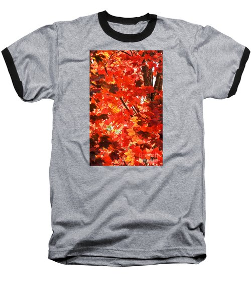 Baseball T-Shirt featuring the photograph Fall by David Perry Lawrence