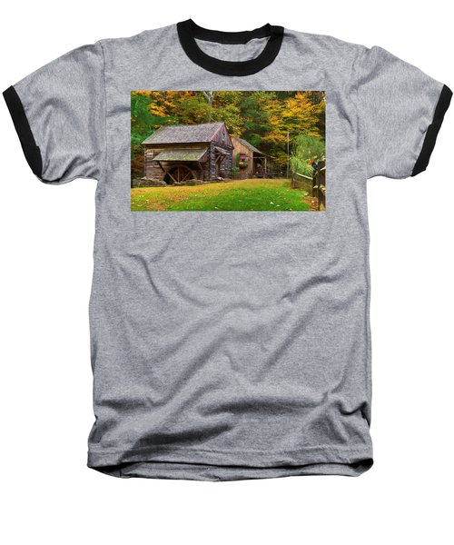 Fall Down On The Farm Baseball T-Shirt