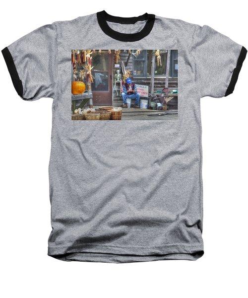 Fall Farmer's Market Baseball T-Shirt