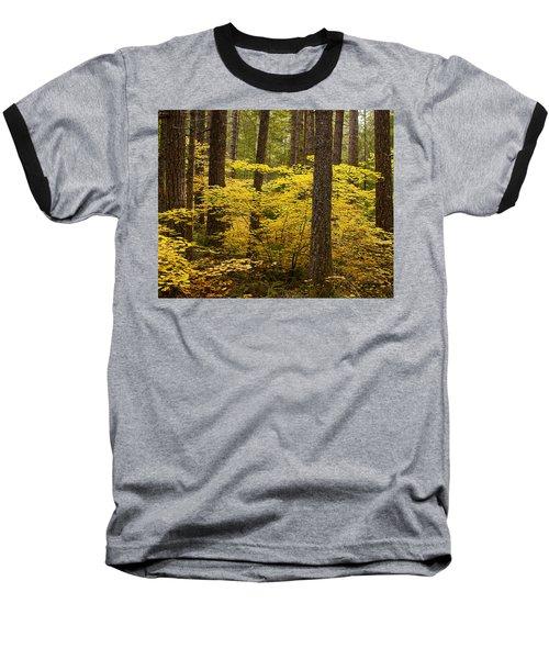 Baseball T-Shirt featuring the photograph Fall Foliage by Belinda Greb