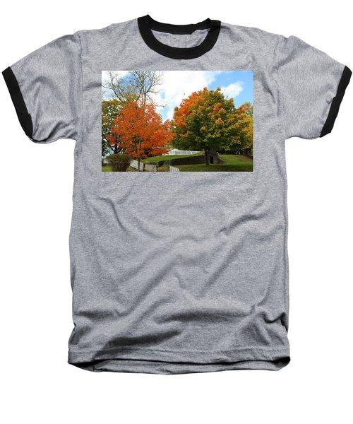 Fall Foliage Colors 09 Baseball T-Shirt