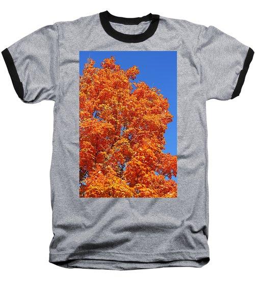 Fall Foliage Colors 18 Baseball T-Shirt