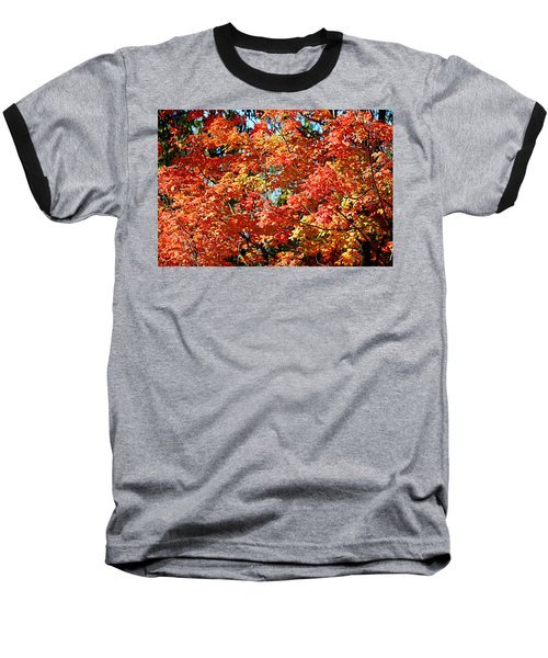 Fall Foliage Colors 22 Baseball T-Shirt